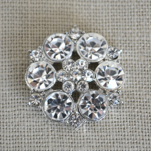 Cheap Vintage Wedding Aster diamante Wedding embellishment  | Diamante Embellishments
