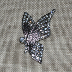 Cheap Vintage Wedding Crystal Butterfly  | Diamante Embellishments