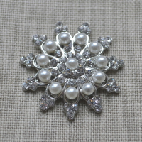 Cheap Vintage Wedding Cornflower Pearl and Diamante embellishment  | Diamante Embellishments