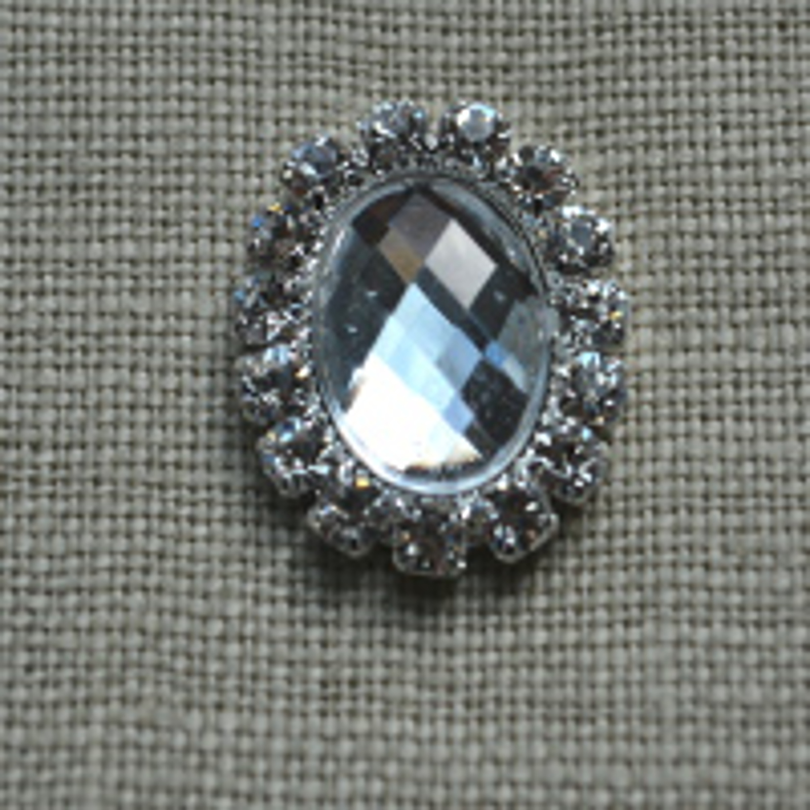 Cheap Vintage Wedding Crystal Small Oval  | Diamante Embellishments