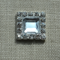 Cheap Vintage Wedding Crystal Square  | Diamante Embellishments