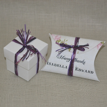Handmade Floral Wedding Favour